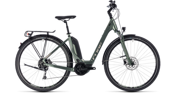 Cube Touring Hybrid ONE 400 Easy Entry Frostgreen'n'Silver
